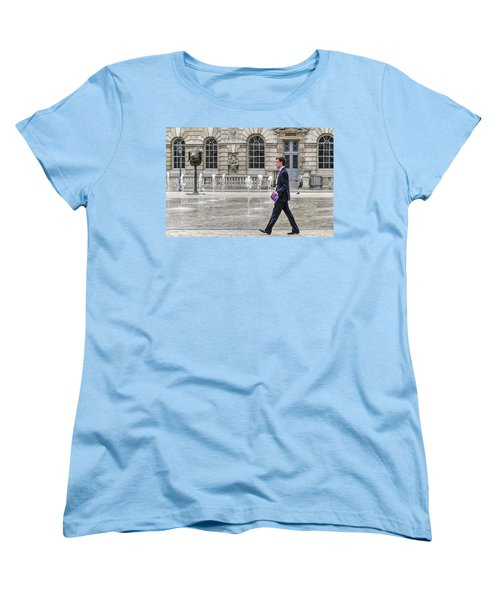 The Tax Man Women's T-Shirt (Standard Cut) by Keith Armstrong