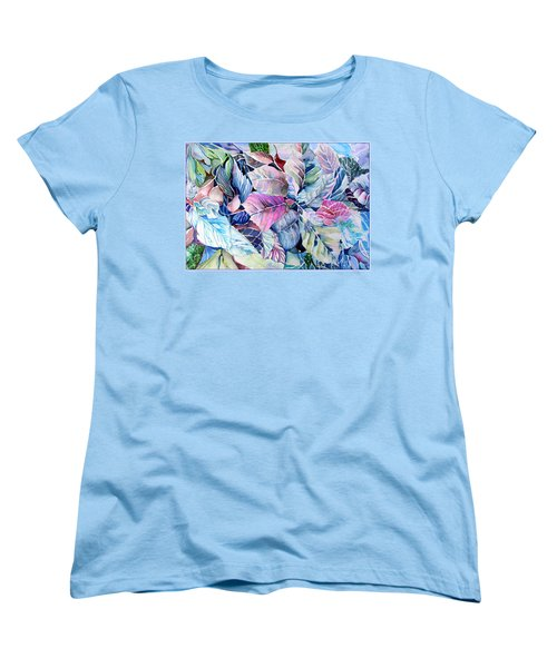 The Touch Of Silence Women's T-Shirt (Standard Cut) by Mindy Newman
