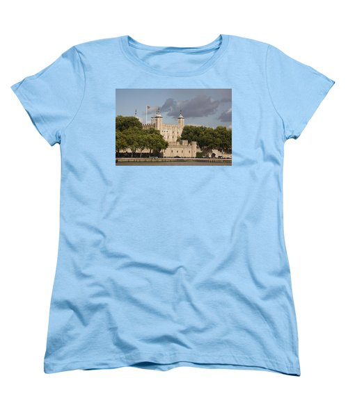 The Tower Of London. Women's T-Shirt (Standard Cut) by Christopher Rowlands