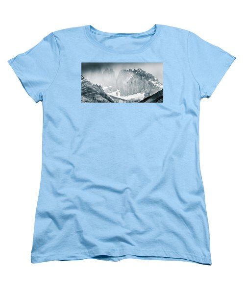 Women's T-Shirt (Standard Cut) featuring the photograph The Towers by Andrew Matwijec