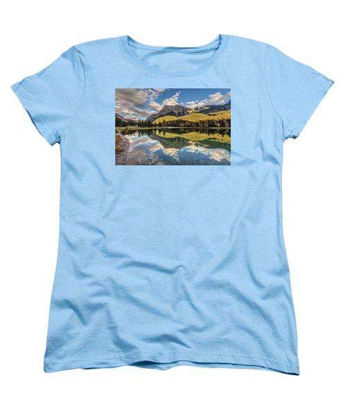 The Town Of Field In British Columbia Women's T-Shirt (Standard Cut) by Pierre Leclerc Photography