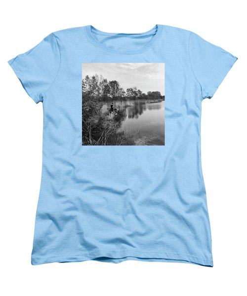 Moving The Water Women's T-Shirt (Standard Cut) by Frank J Casella