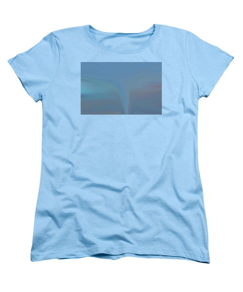 Women's T-Shirt (Standard Cut) featuring the painting The Twister by Dan Sproul