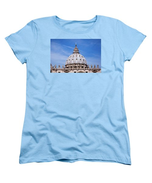 The Vatican Women's T-Shirt (Standard Cut) by Nick  Shirghio