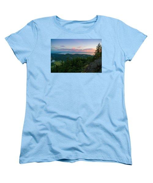 The View From Mt Erie Women's T-Shirt (Standard Cut)