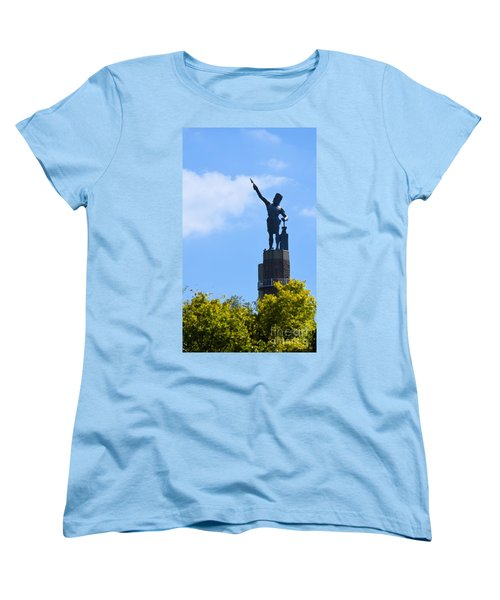 The Vulcan Women's T-Shirt (Standard Cut) by Maria Urso