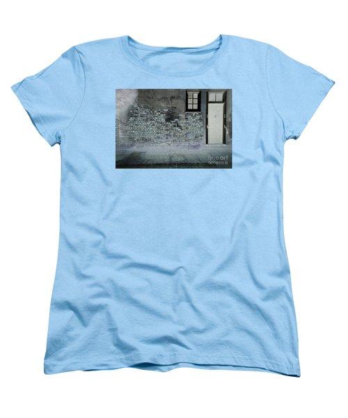 Women's T-Shirt (Standard Cut) featuring the photograph The Wall by Douglas Stucky