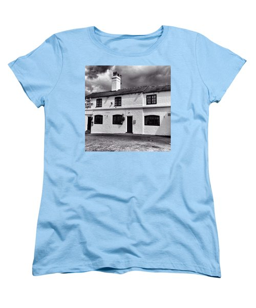 The Weavers Arms, Fillongley Women's T-Shirt (Standard Cut) by John Edwards