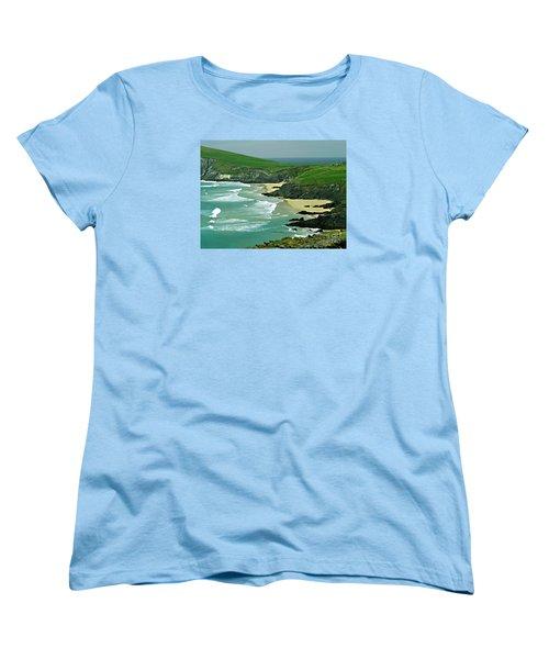 The West Coast Of Ireland Women's T-Shirt (Standard Cut) by Patricia Griffin Brett
