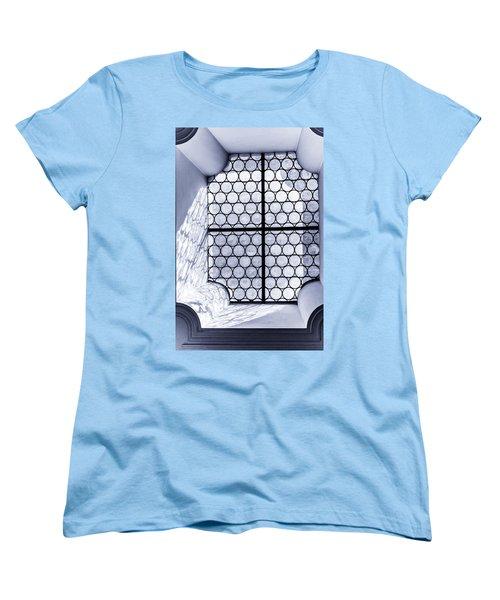 Women's T-Shirt (Standard Cut) featuring the photograph The Window by Sergey Simanovsky