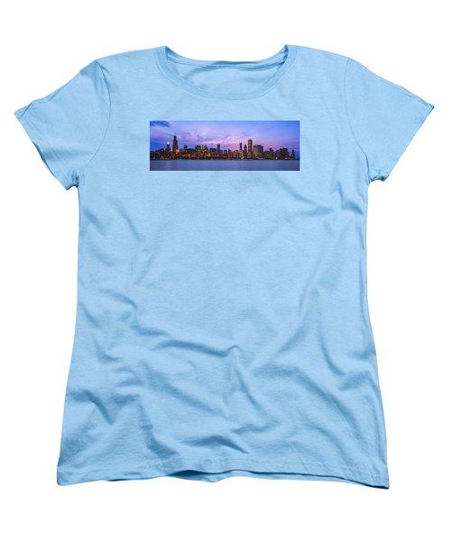 The Windy City Women's T-Shirt (Standard Cut) by Scott Norris