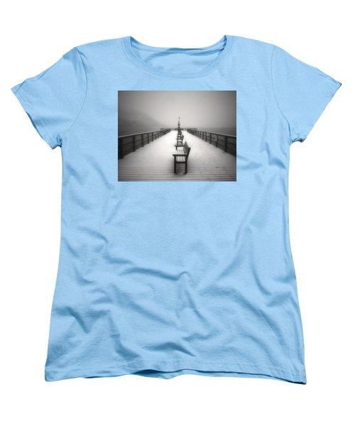 The Winter Pier Women's T-Shirt (Standard Cut)