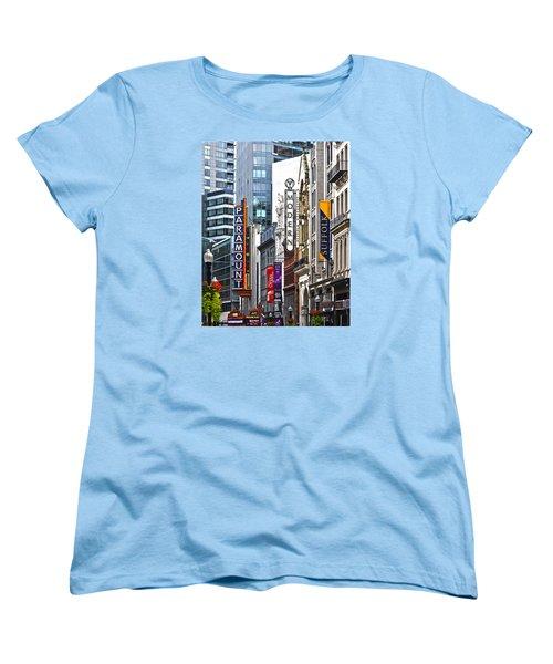 Theatre District Women's T-Shirt (Standard Cut) by Stephen Flint