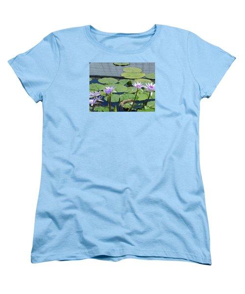 Women's T-Shirt (Standard Cut) featuring the photograph Their Own Kaleidoscope Of Color by Chrisann Ellis