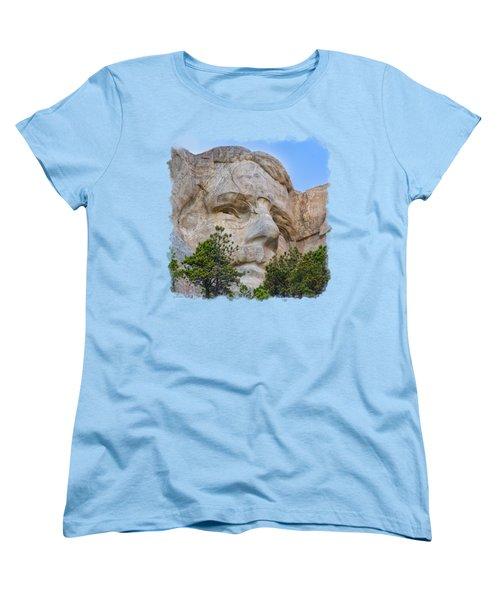 Theodore Roosevelt 3 Women's T-Shirt (Standard Cut) by John M Bailey