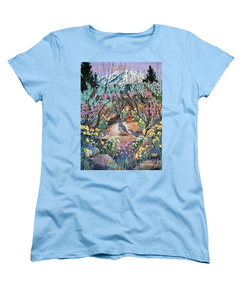 There's One In Every Crowd Women's T-Shirt (Standard Cut) by Jennifer Lake