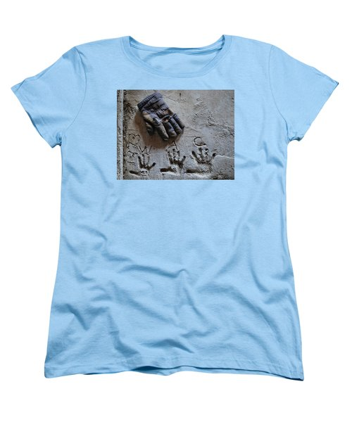 Women's T-Shirt (Standard Cut) featuring the photograph Things Left Behind by Susan Capuano