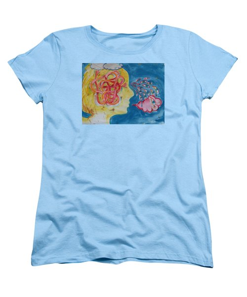 Thinking Women's T-Shirt (Standard Cut)