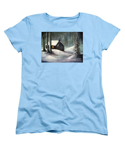 Thinking Warm Thoughts Of You Women's T-Shirt (Standard Cut) by Hazel Holland