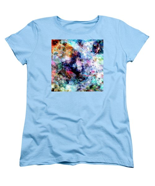 Women's T-Shirt (Standard Cut) featuring the painting Third Bardo by Dominic Piperata
