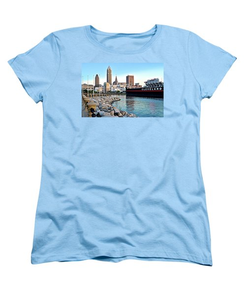 This Is Cleveland Women's T-Shirt (Standard Cut) by Frozen in Time Fine Art Photography