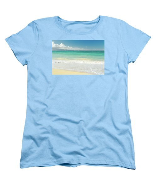 Women's T-Shirt (Standard Cut) featuring the photograph This Paradise Life by Sharon Mau