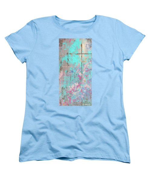 This Side Of The Cross Women's T-Shirt (Standard Cut) by Karen Kennedy Chatham