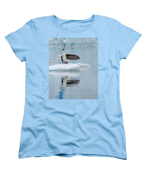 Women's T-Shirt (Standard Cut) featuring the photograph This Way by Tony Beck