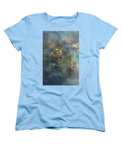 Thorns And Roses Women's T-Shirt (Standard Cut) by Agnieszka Mlicka