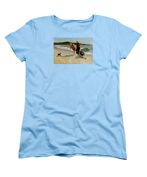 Three Bathers Women's T-Shirt (Standard Cut) by  Newwwman
