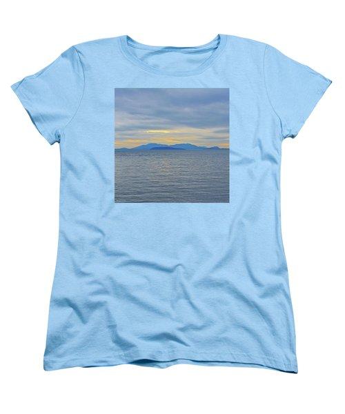Three Realms/dusk Women's T-Shirt (Standard Cut) by Tobeimean Peter