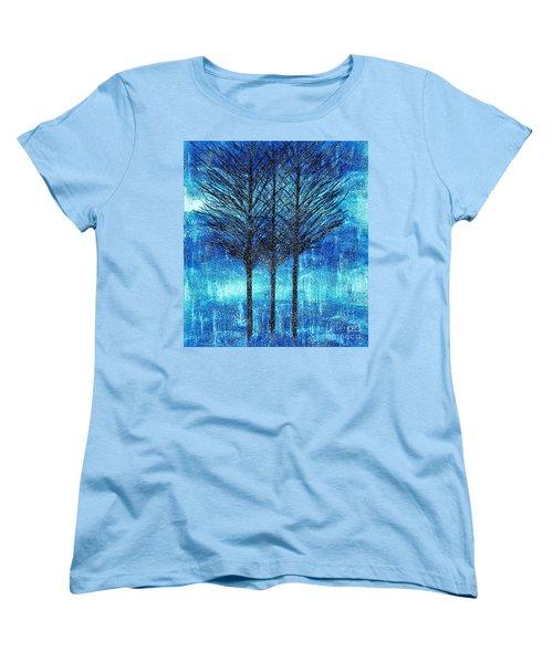 Three Trees  Women's T-Shirt (Standard Cut)