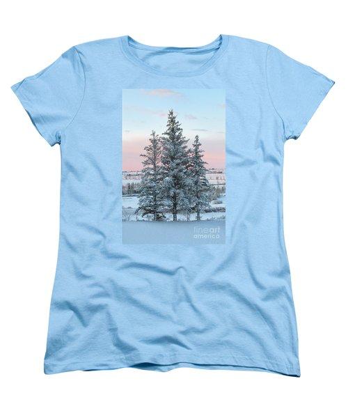 Three Trees Women's T-Shirt (Standard Cut) by Ronda Kimbrow