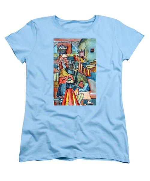 Three Wise Men Women's T-Shirt (Standard Cut) by Mindy Newman