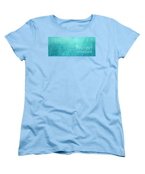 Through The Door Of Christ Consciousness Women's T-Shirt (Standard Cut) by Talisa Hartley