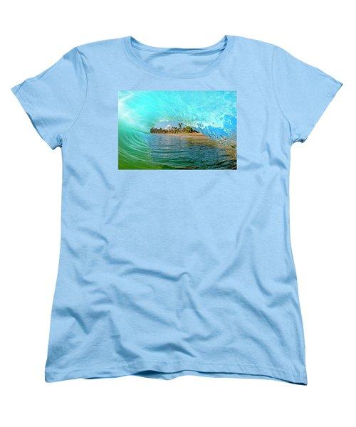 Thru The Looking Glass Women's T-Shirt (Standard Cut)