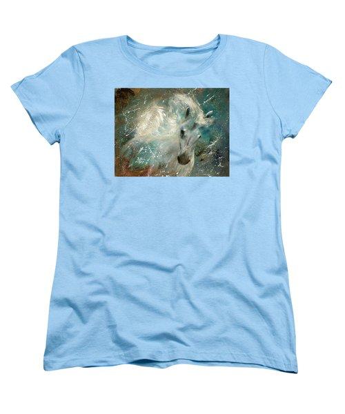 Poseiden's Thunder Women's T-Shirt (Standard Cut) by Barbie Batson