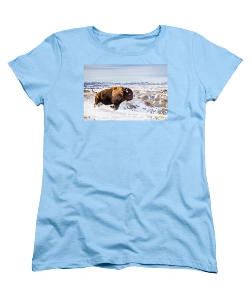 Thunder In The Snow Women's T-Shirt (Standard Cut)
