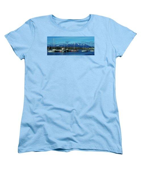 Tierra Del Fuego Women's T-Shirt (Standard Cut) by Juergen Weiss