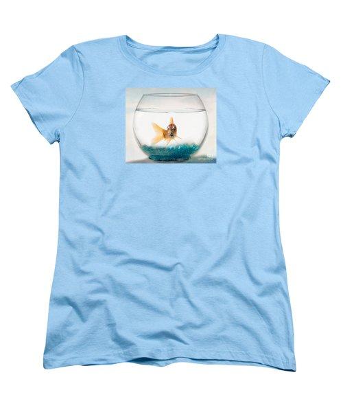 Tiger Fish Women's T-Shirt (Standard Cut) by Juli Scalzi