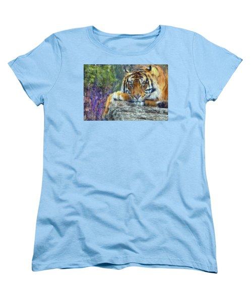 Tigerland Women's T-Shirt (Standard Cut) by Michael Cleere