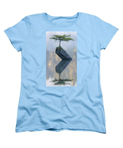 Timeless Tranquility Women's T-Shirt (Standard Cut) by Keith Boone