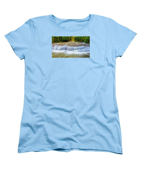 Tinton Falls After The Rain Women's T-Shirt (Standard Cut) by Gary Slawsky