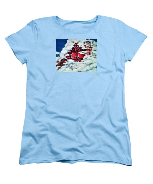 Titan Women's T-Shirt (Standard Cut) by Chris Benice