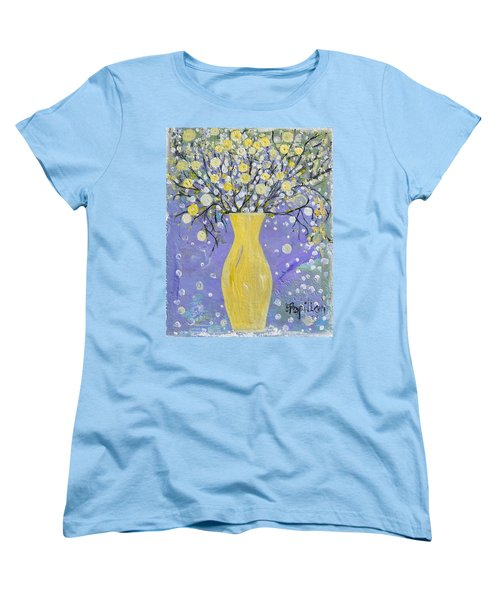 To Brighten Your Evening Women's T-Shirt (Standard Cut) by Evelina Popilian