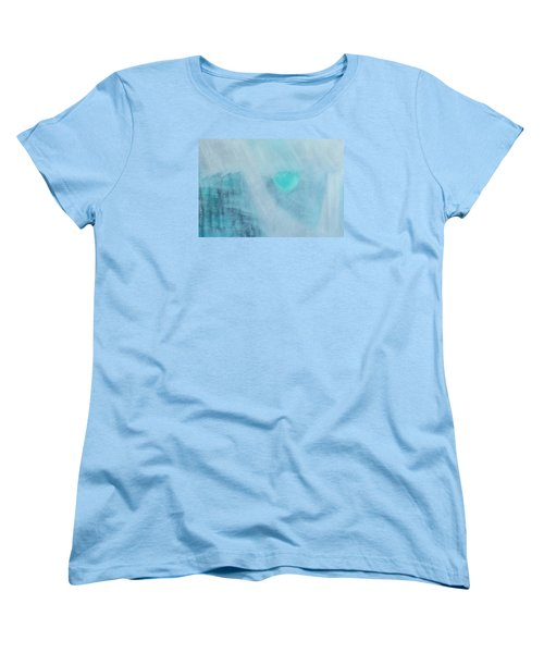 Women's T-Shirt (Standard Cut) featuring the painting To Know Yourself by Min Zou
