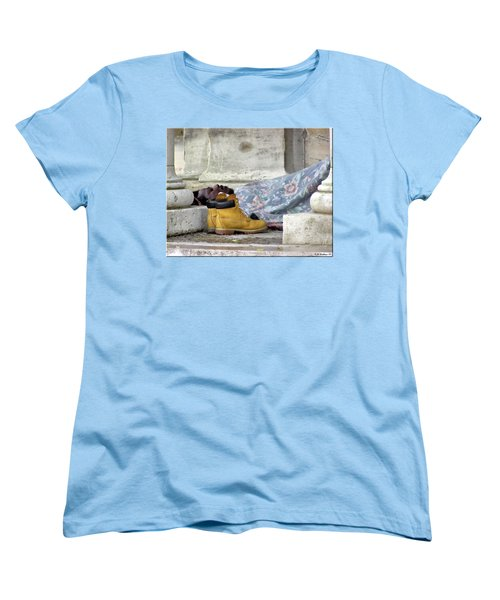 Women's T-Shirt (Standard Cut) featuring the photograph To Sleep Perchance To Dream by Brian Wallace
