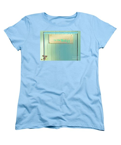 Women's T-Shirt (Standard Cut) featuring the photograph To The Bay by Joe Jake Pratt