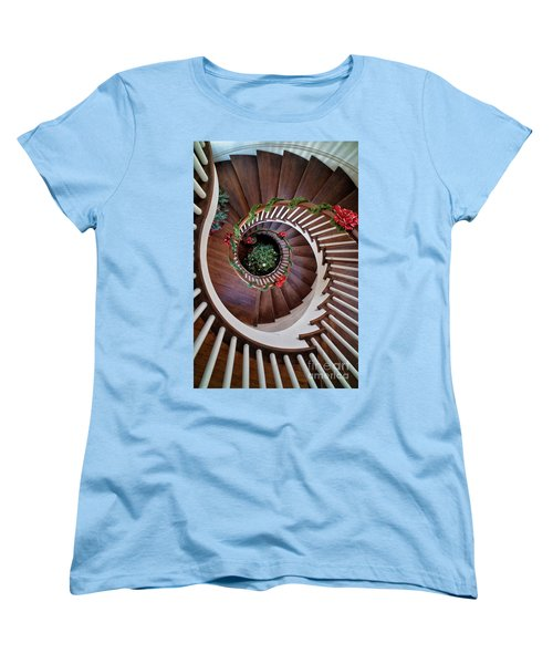 To The Bottom Of The Staircase Women's T-Shirt (Standard Cut) by Nicki McManus