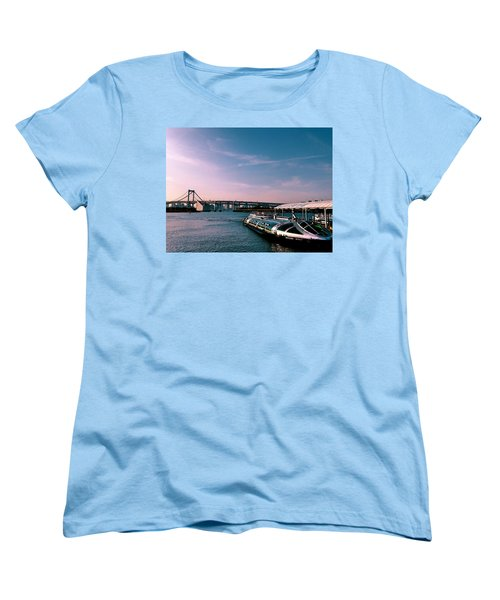 To The Space From Sea Women's T-Shirt (Standard Cut) by Momoko Sano